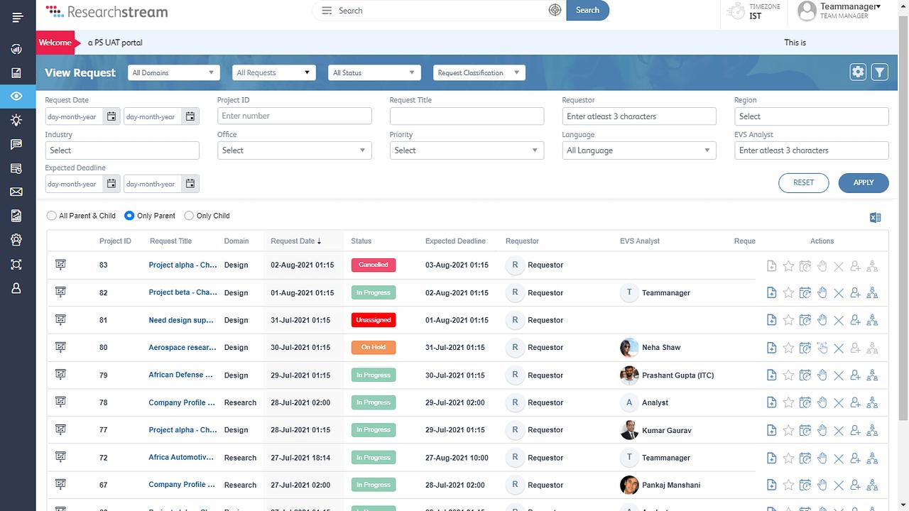 researchstream-workflow-management