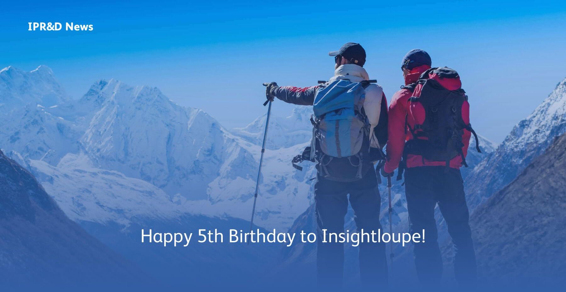 Evalueserve Insightloupe - Happy 5th Birthday to Insightloupe
