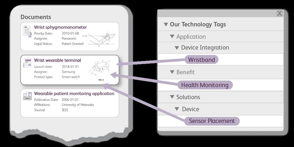 Custom taxonomy